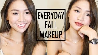 🎃[Chit Chat] 秋季日常妝 Everyday Fall Makeup Look | Pumpkin Jenn🎃