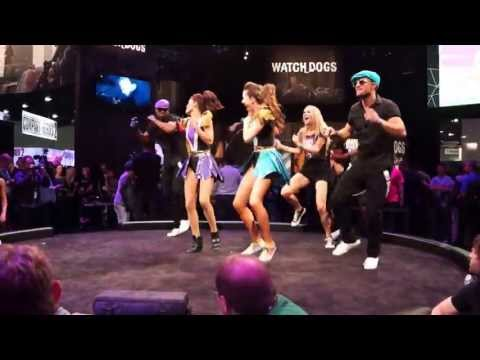 Just Dance E3 2013 Dancing Showcase Part 3 Turn Up the Love Edition