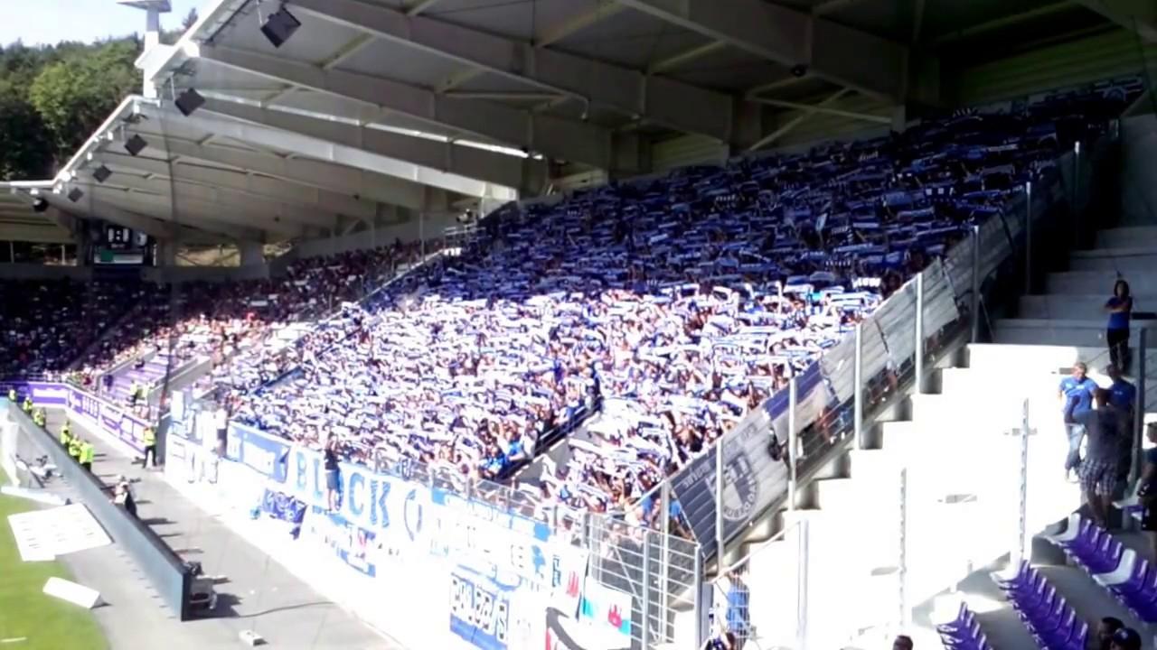 1. FC Magdeburg Ultras (1. Away Spiel in der 2. Liga at FC Erzgebirge Aue 12.08.2018)