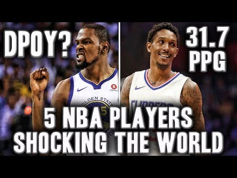 5 NBA Players Shocking The World This Season | Lou Williams Is Dominating!