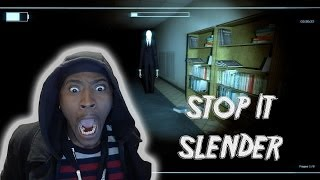 STOP IT SLENDER #4 WITH POiiSED and THE BOYZ