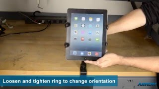 "12"" Clamp Mount For Ipad Air Ipad & Android Tablets | Arkon Tab086-12"