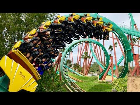 Busch Gardens Tampa Vlog 18th October 2017 - YouTube