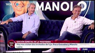 """Entrevista a Manolo Lama y Paco González en """"La Trastienda de TRECE al día"""""""