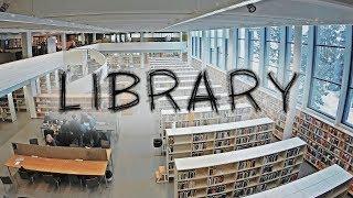 ⋉ Тур по Библиотеке Университета в Финляндии ⋊