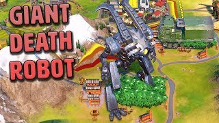 Giant Death Robot - Pachacuti [#15] - Civilization VI Gathering Storm