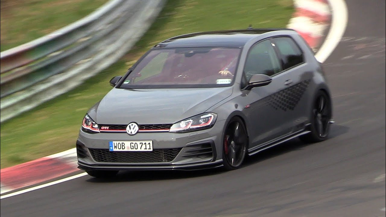 2019 volkswagen golf 7 gti tcr exhaust sounds on the. Black Bedroom Furniture Sets. Home Design Ideas