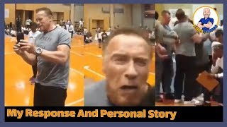 Arnold Schwarzenegger gets Attacked in South Africa - My Response and real life story with Arnold