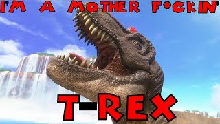 Mario's a MOTHER F*CKIN' T-REX!