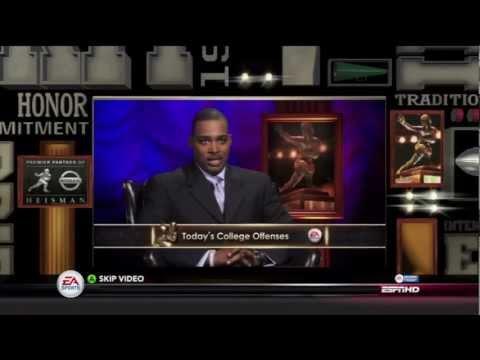 NCAA FOOTBALL 13 - HEISMAN CHALLENGE - ANDRE WARE ep.1