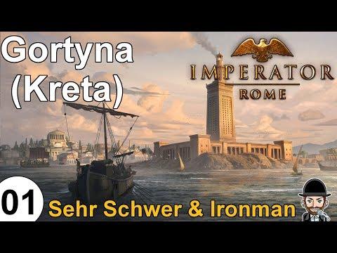 IMPERATOR ROME | Ironman & Sehr Schwer | Gortyna (Kreta) | 01 | deutsch