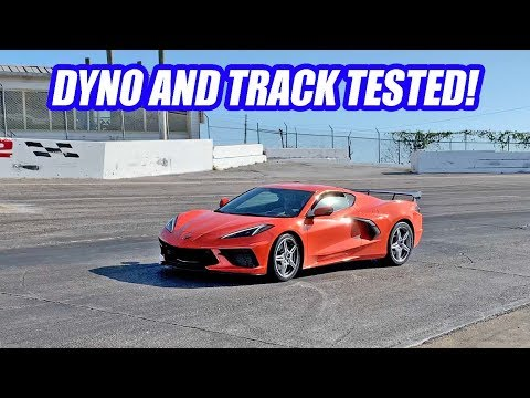 A Complete STRANGER Lets Me RIP His 2020 C8 Corvette After Crashing His Dyno Session! Its AMAZING!