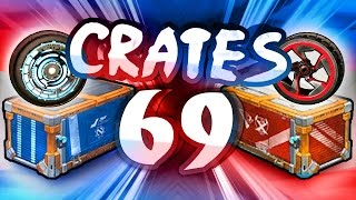 69 CRATES - Rocket League CRATE OPENING 2 - (CC1 & CC2)