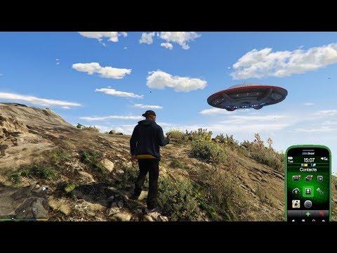 MISTERI GTA 5 : CARA MUDAH MELIHAT UFO DI MT CHILIAD PADA ...