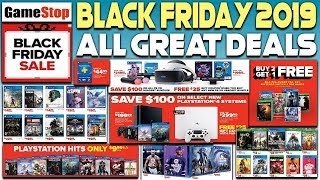 BEST GAMESTOP BLACK FRIDAY 2019 DEALS REVEALED - AWESOME PS4 GAME DEALS, PS4 PRO + MORE!