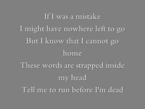 Pink - Runaway with lyrics