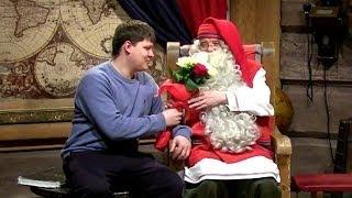 Санта Клаус в Лапландии. Подарок Санта Клаусу(Санта Клаус в Лапландии (Финляндия) принимает гостей со всего мира. Компания UFL http://www.sendflowers.ua/ решила лично..., 2014-01-14T08:15:24.000Z)