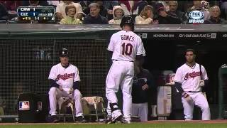 Indians walk-off on Giambi