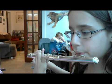 Maisy-flute-playing Jingle Bells