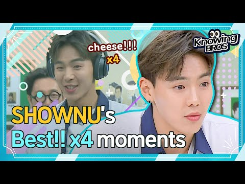"""[MONSTA X Shownu@Knowingbros] """"Cheese!!!""""x4🔥 SHOWNU's BEST moments│EP.238"""