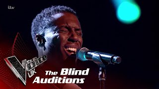Mark Performs Walking Away Blind Auditions  The Voice UK 2018