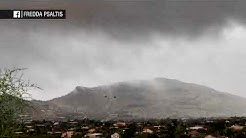 Footage shows tornado touch down in Phoenix area