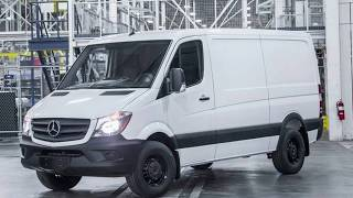 2018 Mercedes Benz Sprinter Worker the Luxury Workhorse