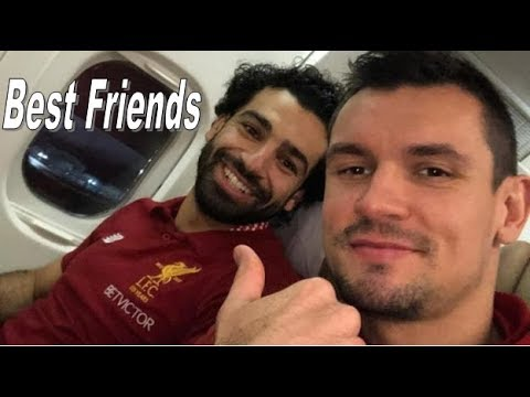 You Won't Believe How Close Mo Salah And Dejan Lovren Are - True Bromance