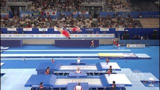 Worlds Best Trampoline Routines Sergei Azarian And Mikhail Melnik