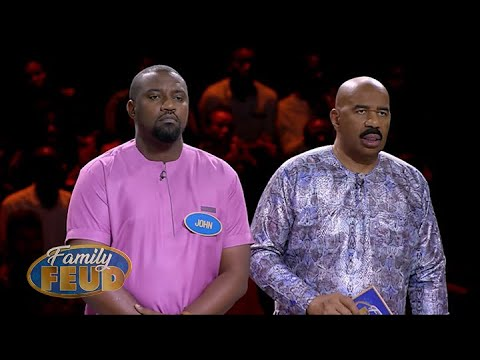 Will FAST MONEY celebs lock down $5000 for charity?!! | Family Feud Ghana