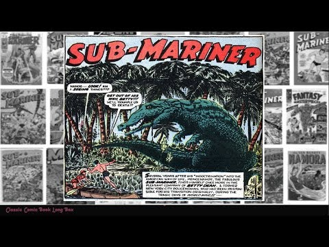 "Sub Mariner: vol 1 #33, ""King Crocodile"""