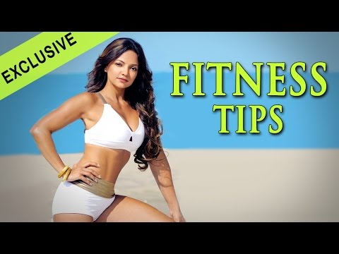 Deanne Pandey's Fitness Tips - Bipasha Basu Workout - Celebrity Fitness Expert
