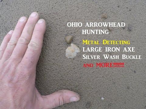 Ohio Arrowhead Hunting & Metal Detecting Treasure Archaeology