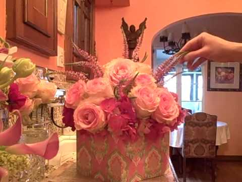 baby bridal shower centerpiece idea how to florist youtube