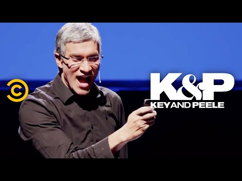 Tim Cook Loses His S**t At His First Apple Keynote - Key & Peele