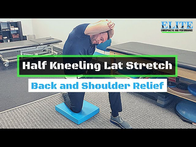 The Best Stretch for the Lats   Chesterfield Chiropractor