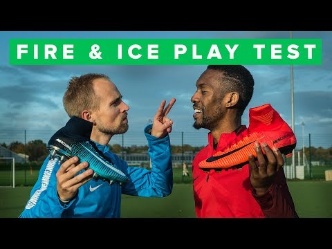 NIKE FIRE & ICE play test and challenge