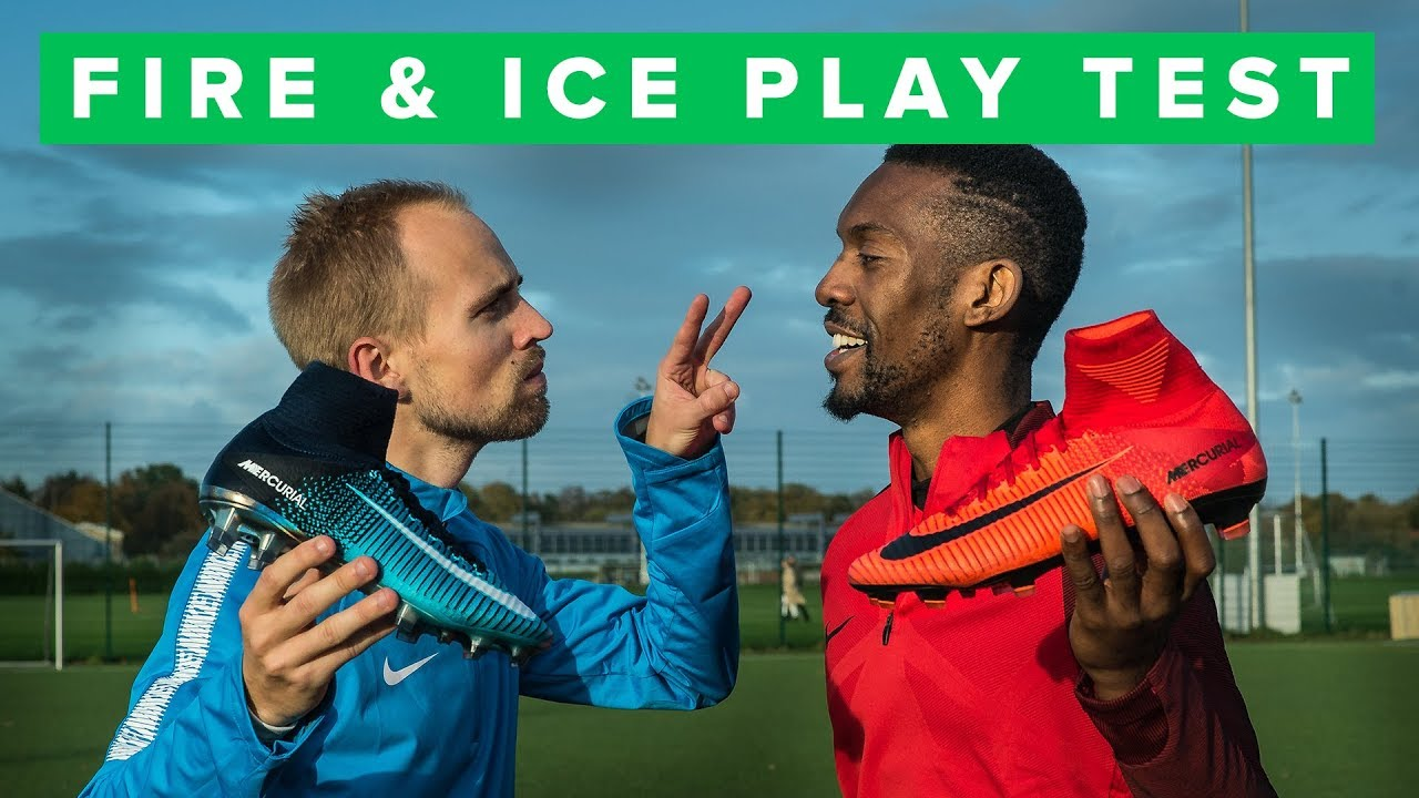 e5039ef24 NIKE FIRE   ICE play test and challenge - YouTube