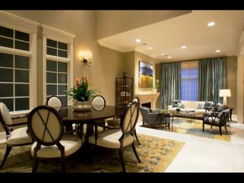 Living Room and Dining Room Together ideas - YouTube