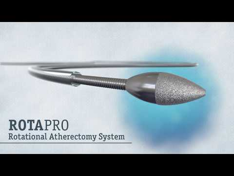 ROTAPRO Rotational Atherectomy system animation video Boston Scientific