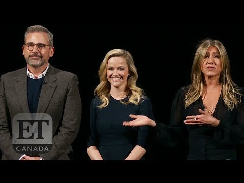 Reese Witherspoon Jennifer Aniston Talk 'The Morning Show'