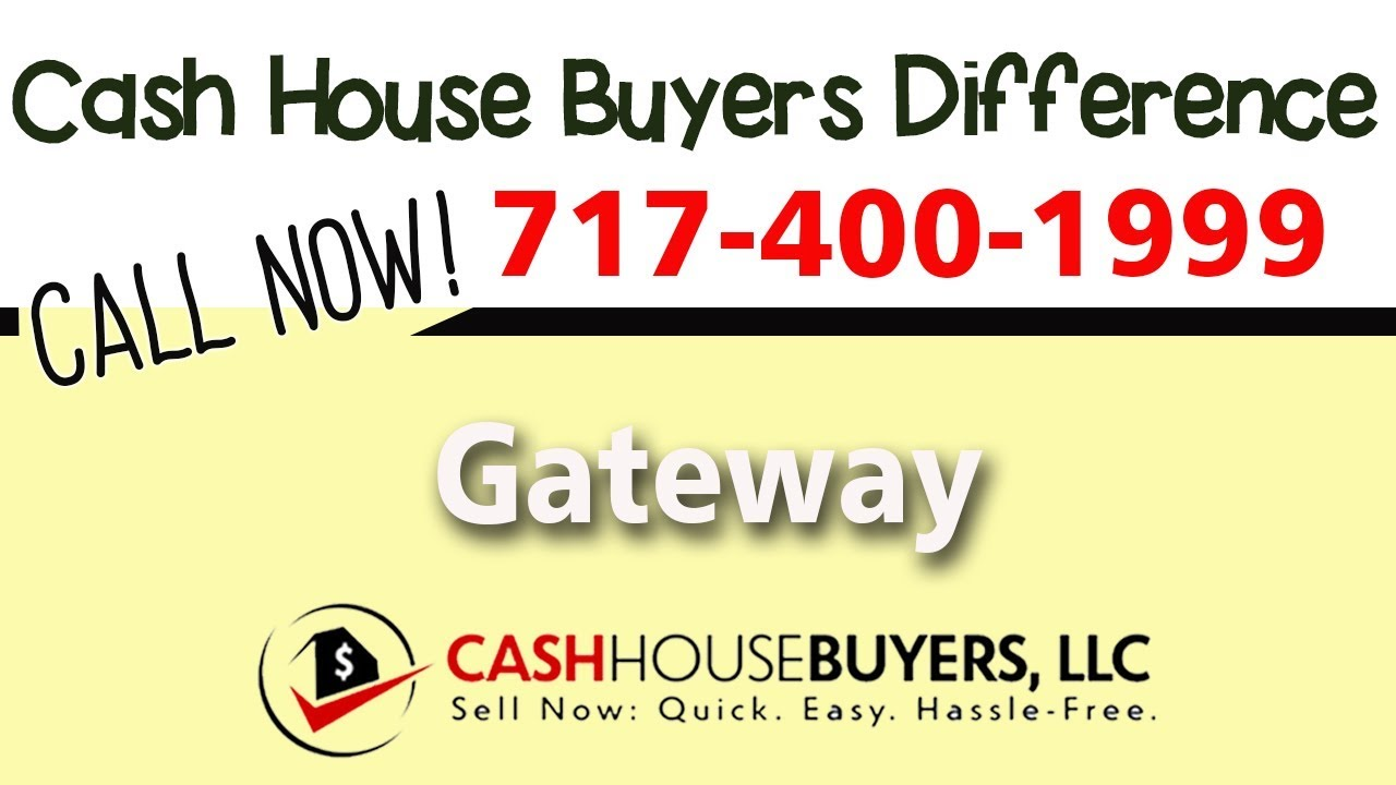 Cash House Buyers Difference in Gateway Washington DC | Call 7174001999 | We Buy Houses
