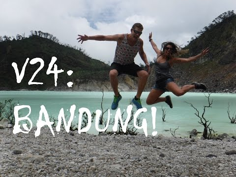 Travel Vlog 24- White Crater! Bandung, Indonesia