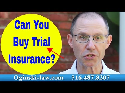 Can You Buy Trial Insurance to Guarantee a Result in Your Medical Malpractice Case in New York?