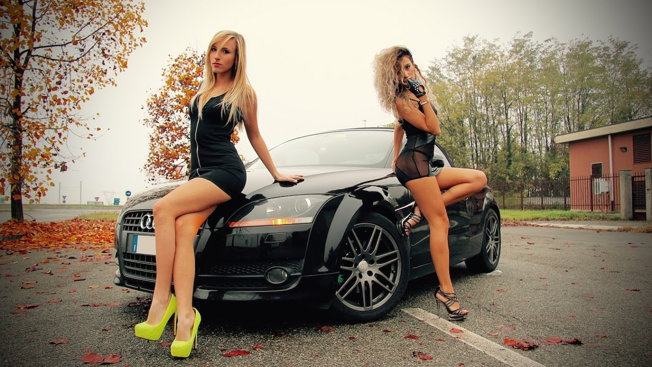 Hot Chicks Driving Fast Cars