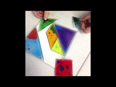 Busy Fingers Tangram Gel Puzzle
