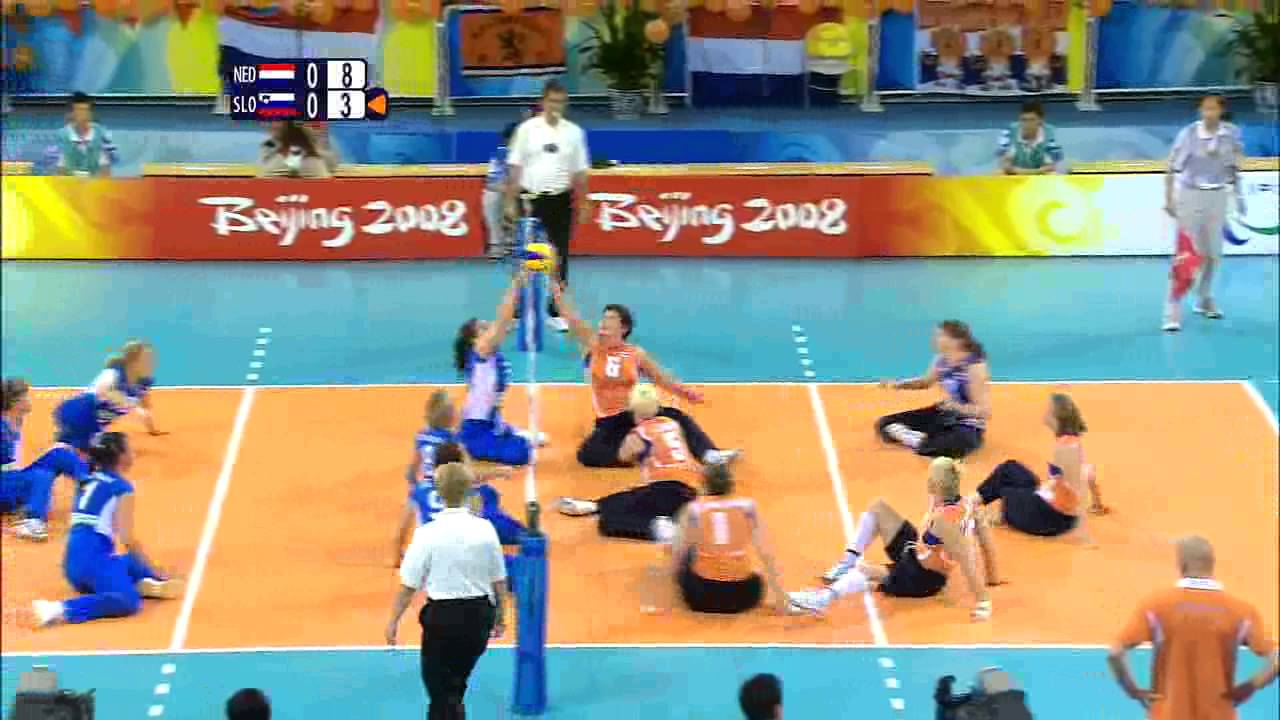 Womens Sitting Volleyball Bronze Medal Match 1