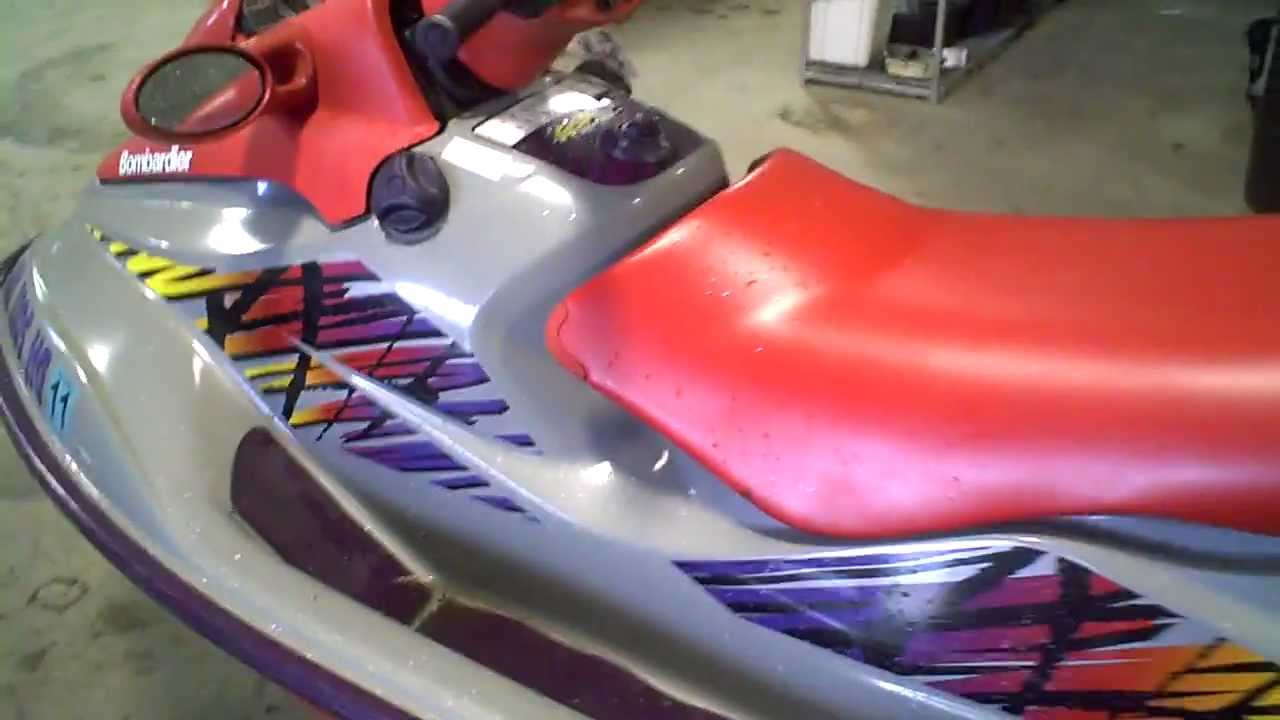 1998 Sea Doo GSX Limited 951 Running LOT 976A
