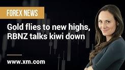 Forex News: 24/06/2020 - Gold flies to new highs, RBNZ talks kiwi down