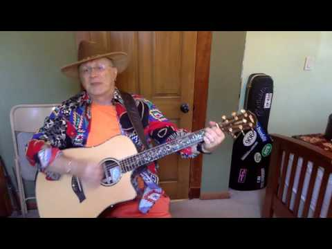 977b  - The Gambler -  Kenny Rogers vocal & acoustic guitar cover & chords